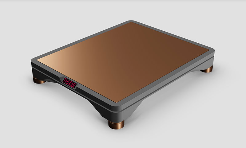 THIXAR HiFi platform Silence Focus in silver copper finish